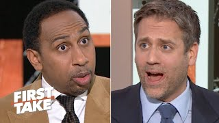 'This man is 42 years old!' - Stephen A. and Max Kellerman debate Tom Brady | First Take