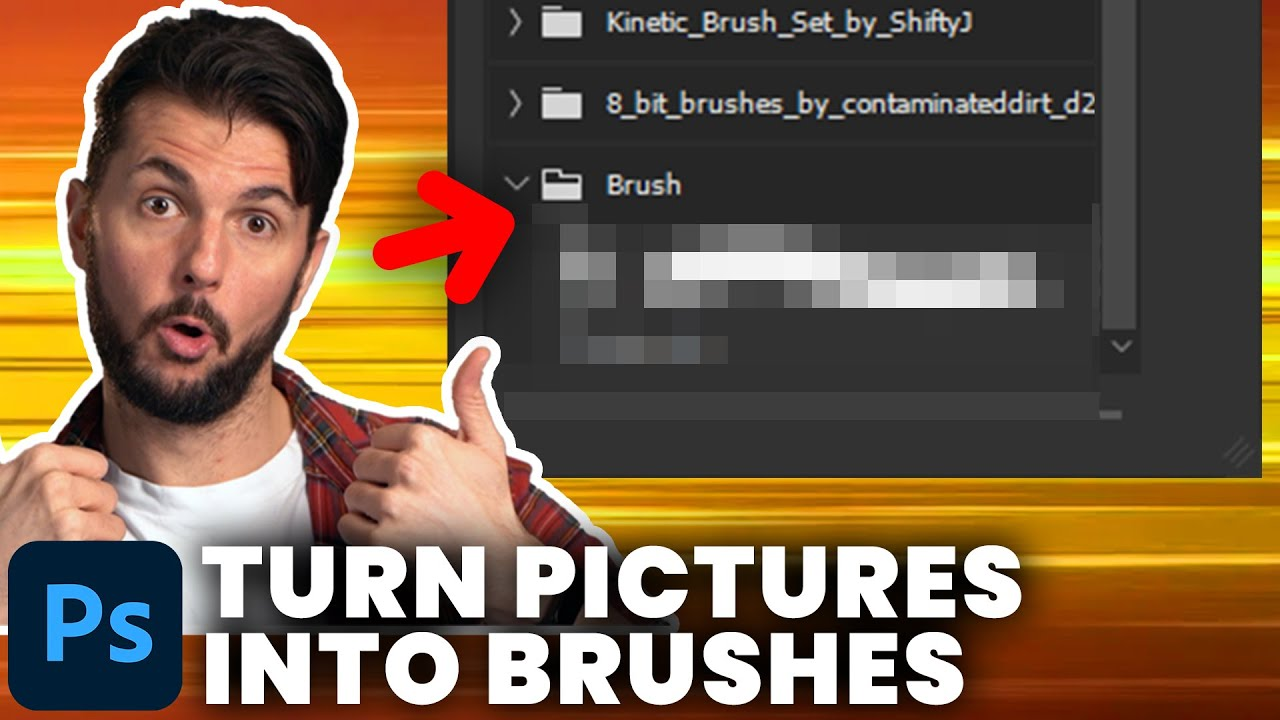 Turn ANY Picture Into Photoshop Brushes