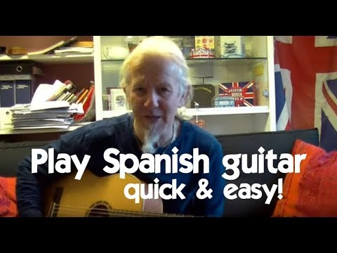 spanish style guitar lesson for beginners in a minor chords with riffs youtube. Black Bedroom Furniture Sets. Home Design Ideas