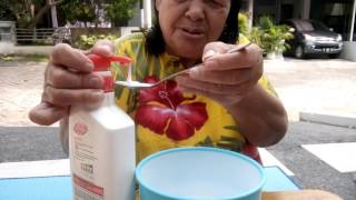 Cara membuat milky down slime ala nenek josephine