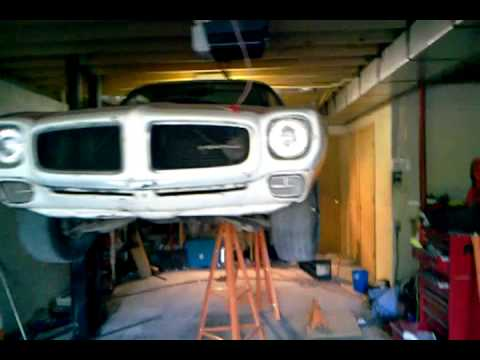 Diy home built car lift 2 youtube diy home built car lift 2 solutioingenieria Images