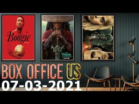 U.S Box Office | March 07 | البوكس أوفيس الأمريكي مترجم | 07 مارس 2021