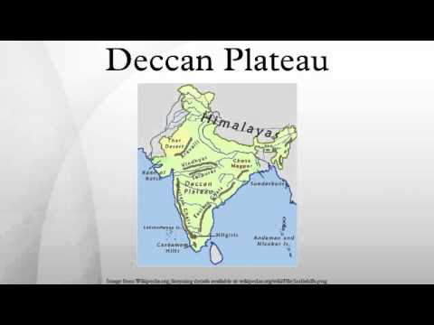 Deccan Plateau - YouTube on