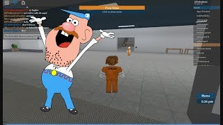 Knowing Prision Life in Roblox this Tio is a Loquillo