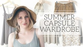 Summer Capsule Wardrobe | Project 333