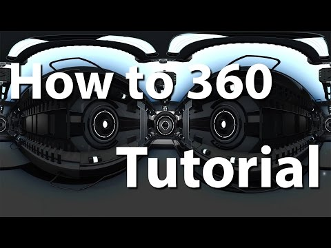How to make a 360 video for youtube with sky box script - after effects tutorial