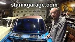 Chevy LUV windshield wiper weatherization kit