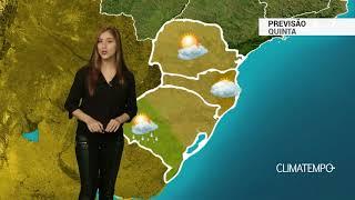 Previsão Sul - Risco de chuva forte no sul do RS