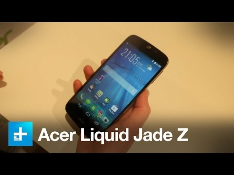 Acer Liquid Jade Z - Hands On
