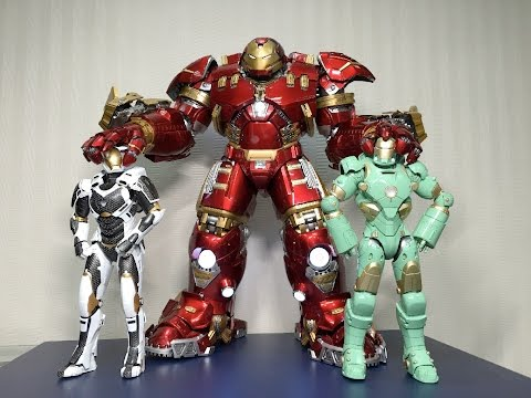Diecast Hulkbuster Mark 44 (Weight 2.8 KG) by KING ARTS 1/9