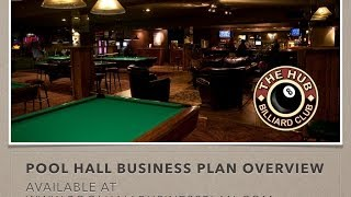 Pool Hall Business Plan Overview