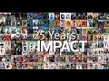 25 Years of IMPACT Magazine Covers