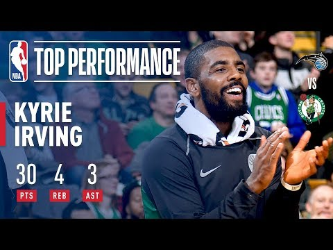 Kyrie Irving Scores 30 Points in Less Than 25 Minutes vs. Magic | November 24, 2017