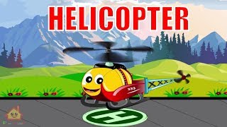 Helicopter Cartoons for Kids - Transformers  Cartoons & JCB Cartoons Garbage Truck Cartoons