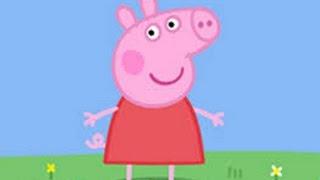 Świnka Peppa: mglisty dzień, wyprzedaż staroci, pływanie, małe zwierzątka.