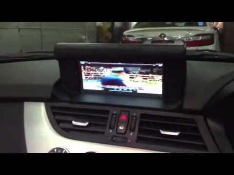 Dynavin Shop Bmw E89 Z4 Non Monitor Upgrade To 8 8 Quot Lcd Youtube