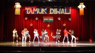 Bollywood fusion | Indian students dance in USA | Diwali event 2017