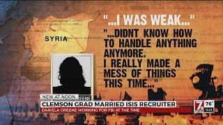 Clemson grad married ISIS recruiter
