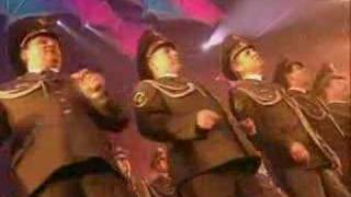 "Ottawan & Alexsandrov red army choir ""crazy music"""