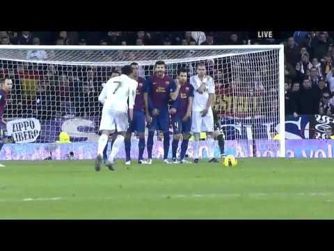 Real Madrid vs Barcelona 1- 3 El clasico 10.12.2011  Highlights (HD 1080p)
