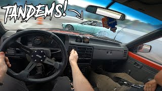 homepage tile video photo for FIRST TANDEMS In the Drift Truck!