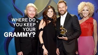 Where Do You Keep Your GRAMMY | Jimi Westbrook Of Little Big Town