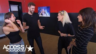 'Dancing With The Stars': Nick Viall & Peta Murgatroyd On Training For The Show