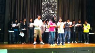 Saint Andrew Kim High School performing