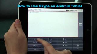 skype on android tablet