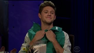 Niall Horan Chooses Selena or Ellie For Last Night on Earth in Spill Your Guts on Late Late Show