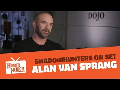 Shadowhunters On Set: Alan Van Sprang Talks Season 2B