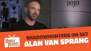 Shadowhunters On Set: Alan Van Sprang Talks Season 2B