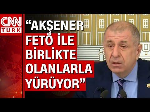 Ümit Özdağ istifa konuşmasında Akşener'e ateş püskürdü! \