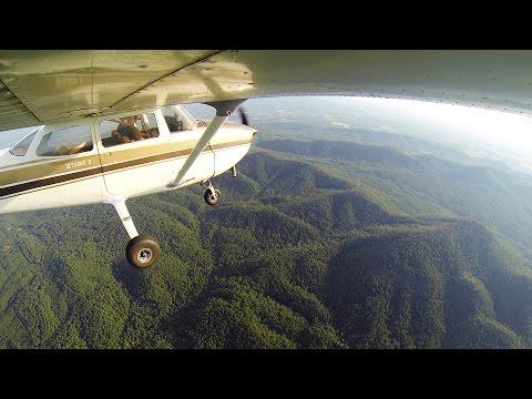 Landing in Mena, AR | Ozark Mountains | ATC Audio