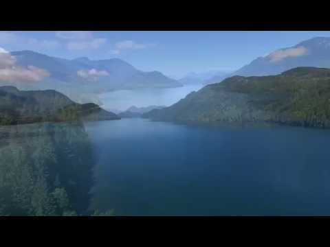 Flying over Stave Lake BC - DJI Phantom 3 drone flight