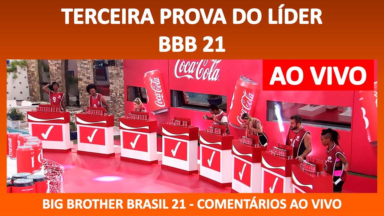 BBB 21: 3ª Prova do Líder do BBB21 AO VIVO - 11/02/2021 ...