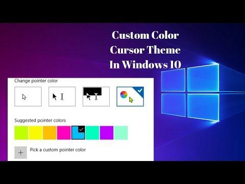 how to change cursor windows 10 - Myhiton
