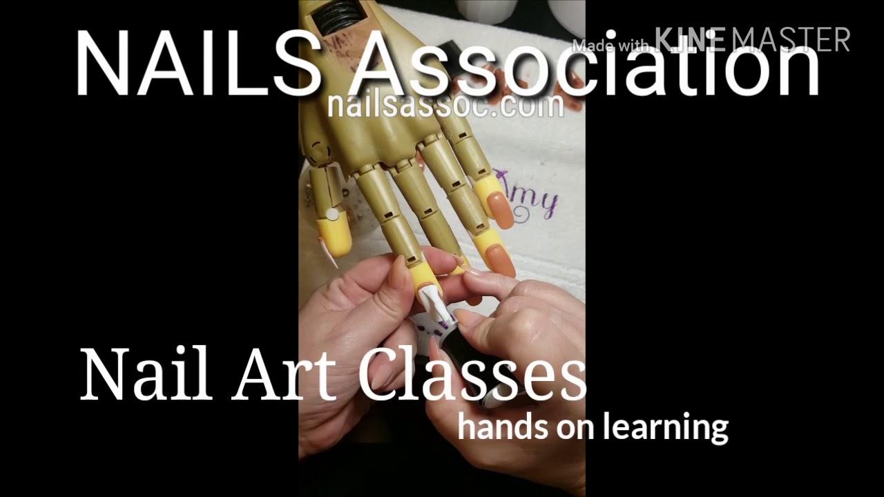 NAIL ART CLASSES - YouTube