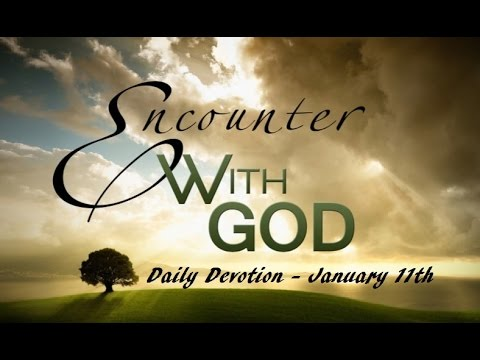 Daily Devotional For Men - January 11th