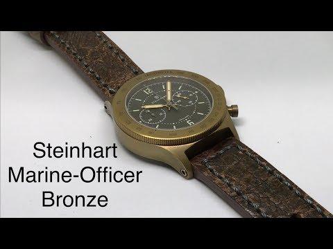 Steinhart Marine-Officer Bronze
