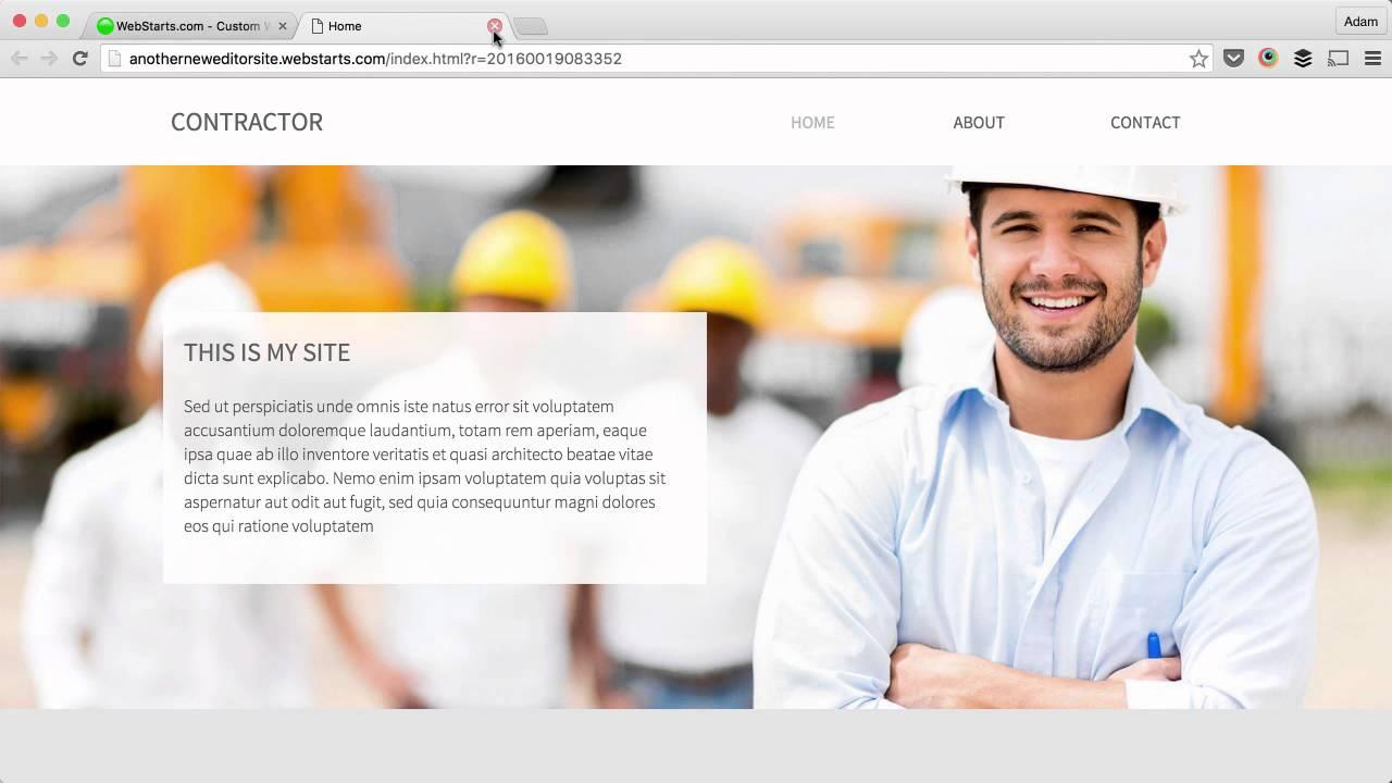 Getting Started with WebStarts Website Builder 2016