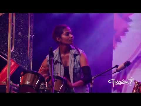 Sri lankan Drummers Thuryaa - all female drum ensemble - Fusion