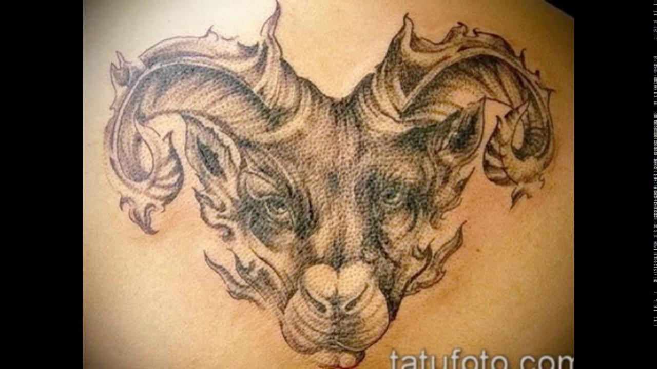 татуировка знак зодиака овен тату овен значение описание фото