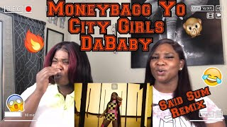 JT..BARS! | Moneybagg Yo – Said Sum Remix feat. City Girls, DaBaby [Official Music Video] | REACTION