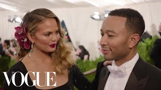 chrissy teigen and john legend at the met gala 2015 china through the looking glass