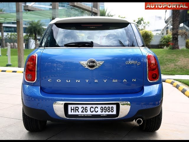 mini countryman price in india images specs mileage. Black Bedroom Furniture Sets. Home Design Ideas