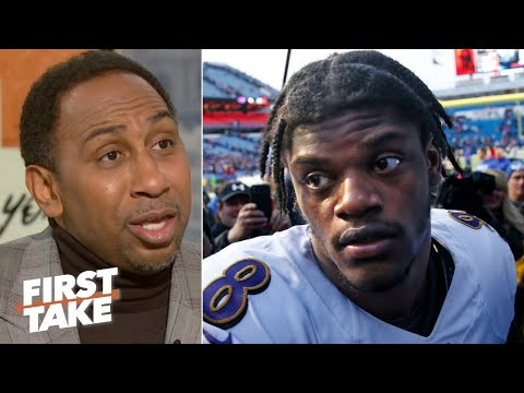 Lamar Jackson's Quad Injury Is More Concerning Than Patrick Mahomes' Hand - Stephen A.   First Take
