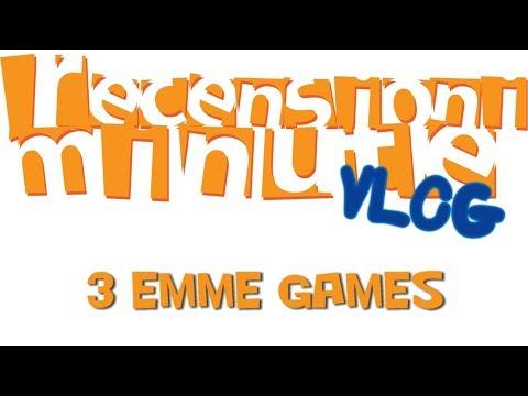 Recensioni Minute Vlog [113] - 3 Emme Games