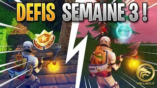 FORTNITE - COMPLETER WHAT ALL THE WEEK 3 - FREE PALIER!!