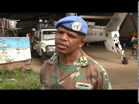 Merry Christmas to South Africa's soldiers in the DRC